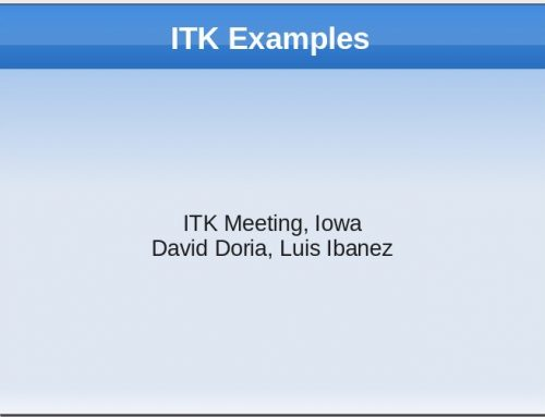 Introduction to the ITK Examples Wiki
