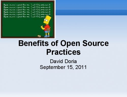 Benefits of Open Source Practices