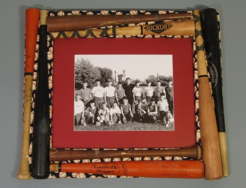 Baseball Bat Picture Frame