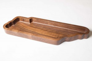Walnut TN Tray